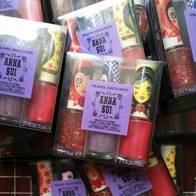 Combo sơn móng tay Anna Sui hộp 3 chai Nhật - 2240