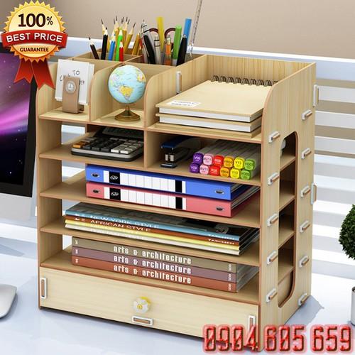 Kệ sách gỗ để trên bàn làm việc - 19984033 , 25176109 , 15_25176109 , 480000 , Ke-sach-go-de-tren-ban-lam-viec-15_25176109 , sendo.vn , Kệ sách gỗ để trên bàn làm việc