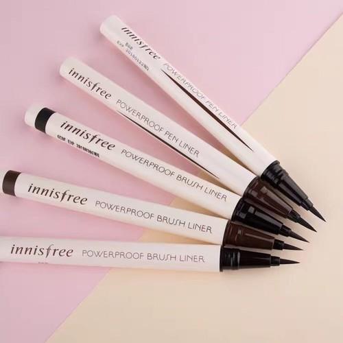 Bút kẻ mắt Innisfree Powerproof Brush Liner