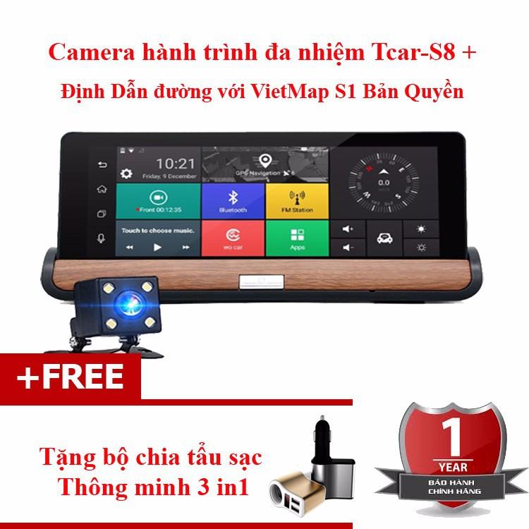 Camera hành trình ô tô TCAR-S8 2