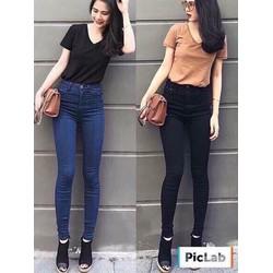 Quần Jeans cạp cao hàng nhập Quảng Châu