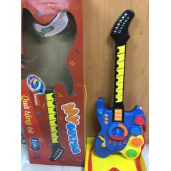 Đàn Guitar điện tử quà tặng Enfa I Đàn phát nhạc I Đàn guitar cho bé