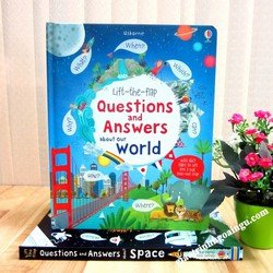 Sách Usborne Lift-The-Flap Questions and Answers About Our World
