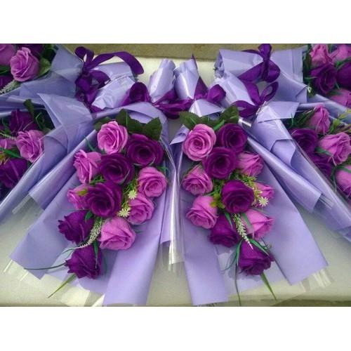 hoa hồng giấy nhún 11 hoa - 5318762 , 8849728 , 15_8849728 , 200000 , hoa-hong-giay-nhun-11-hoa-15_8849728 , sendo.vn , hoa hồng giấy nhún 11 hoa