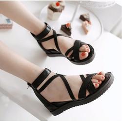 Sandal nữ quai chéo dễ thương