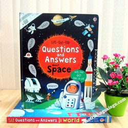 Sách Usborne Lift-The-Flap Questions and Answers About Space