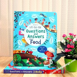 Sách Usborne Lift-The-Flap Questions and Answers About Food