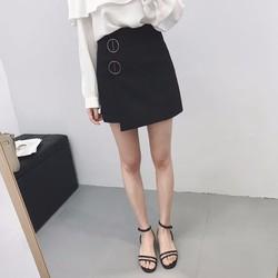 Chân váy kaki chữ A