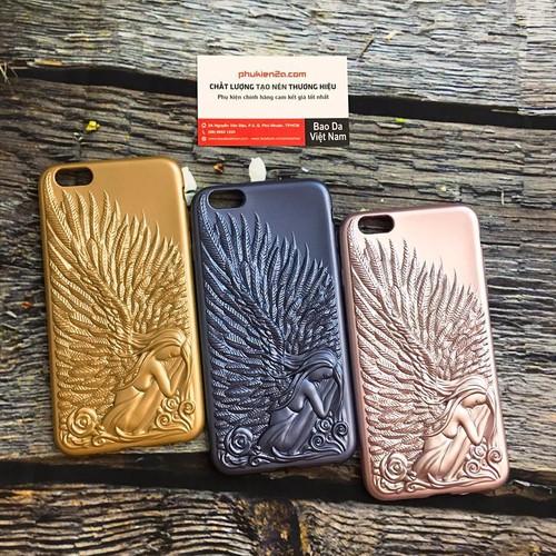 Ốp Lưng Iphone 6 Plus, 6S Plus Thiên Thần Love Crazy Dẻo
