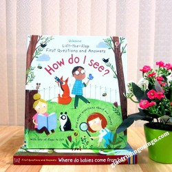 Sách Usborne Lift-The-Flap First Questions and Answers: How Do I See