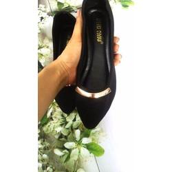 Giày búp bê vải sành điệu