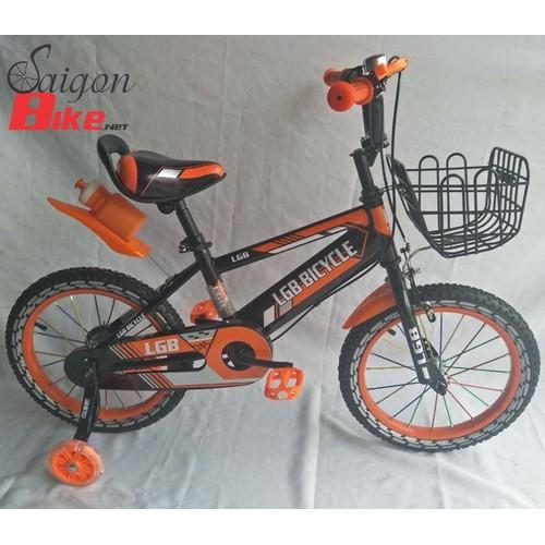 Xe đạp trẻ em LGB Bicycle 16 inch cam