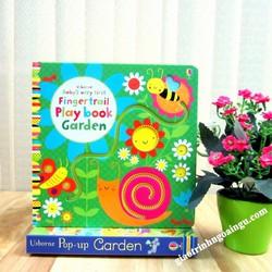 Sách Usborne Baby s Very First Fingertrail Play Book Garden