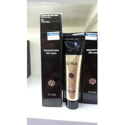 Kem nền che khuyết điểm hoàn hảo Ohui Second Skin BB Cream SPF 50