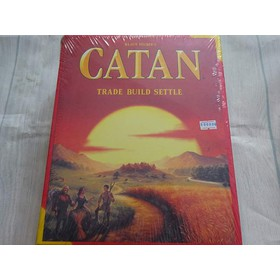 CATAN - PHIÊM BẢN TIẾNG ANH - HỘP THƯỜNG - CATANTH