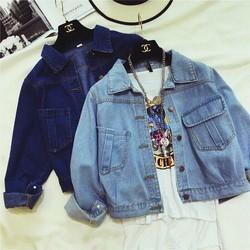 áo khóac jeans nữ