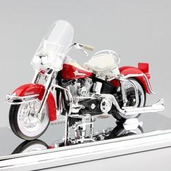 XE MÔ HÌNH 1:18 - MOTO HARLEY - 1962 - FLH DOU GLIDE - Pô đuôi cá