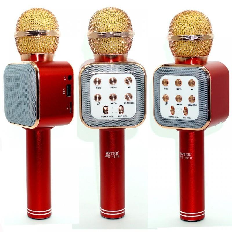 mic karaoke ws-1818 kèm loa 2