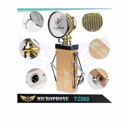 Micro Thu Âm karaoke trực tuyến T2000