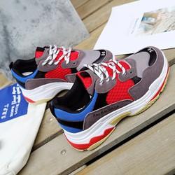 Giày thể thao cá tính nhiều màu
