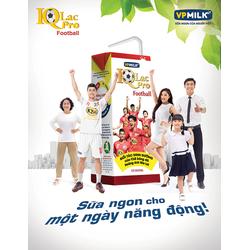 Sữa uống dinh dưỡng IQLac Pro Football SOCOLA hộp 110ml- 48 hộp