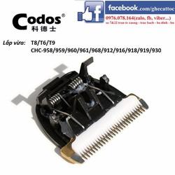 LƯỠI TÔNG ĐƠ CODOS T6 T8 T9, CHC 968 961 960 958 930 959 916 918 919