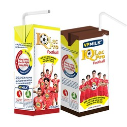 Sữa uống dinh dưỡng IQLac Pro Football có đường hộp 110ml- 48 hộp