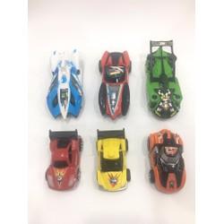 Bộ 6 chiếc mô hình xe đua chạy trớn cơ bản