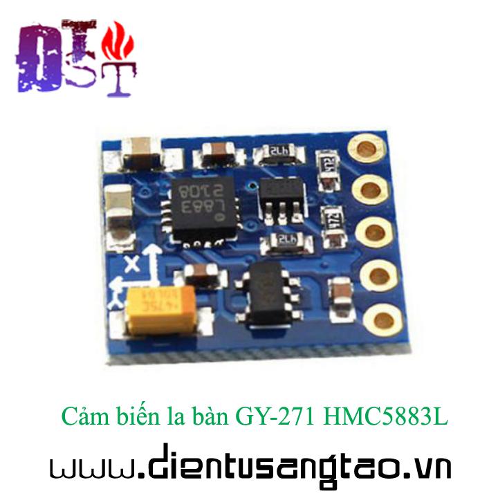 Cảm biến la bàn GY-271 HMC5883L 7