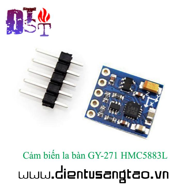 Cảm biến la bàn GY-271 HMC5883L 6
