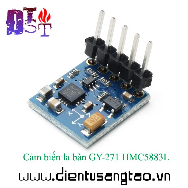 Cảm biến la bàn GY-271 HMC5883L 2