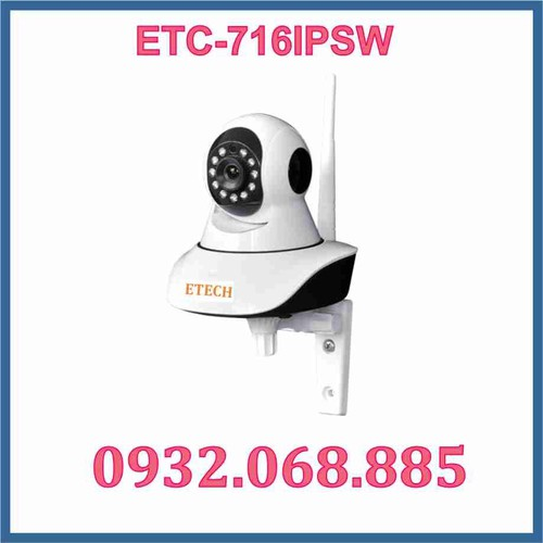 Camera IP WIFI ETC-716IPSW - 5332771 , 8879269 , 15_8879269 , 1980000 , Camera-IP-WIFI-ETC-716IPSW-15_8879269 , sendo.vn , Camera IP WIFI ETC-716IPSW