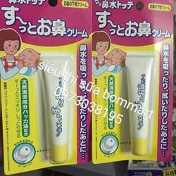 kem bôi chống chảy mũi trị ngạt cho bé