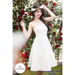 Đầm Xòe Ngọc Trinh Cúp Ngực Sang Trọng