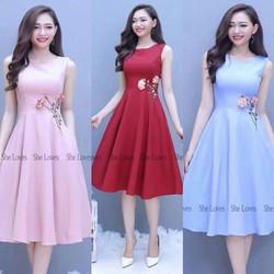 Đầm Xòe Dạo Phố Xinh Xinh