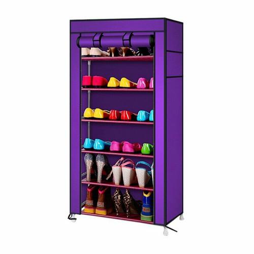 Tủ để giày bằng vải