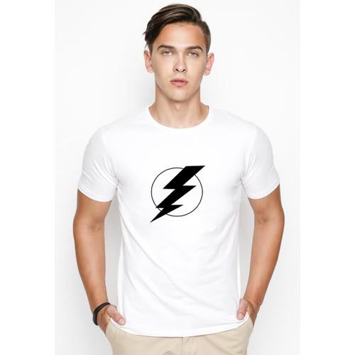 Áo thun nam in hình Flash  AoKNAM406 - có 8 màu