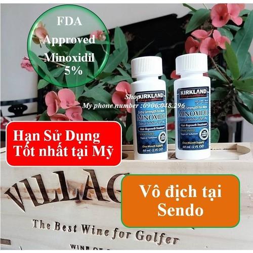 FDA Phê duyệt - Thuốc mọc Tóc- râu Mỹ Minoxidil 5 Kirkland - Bộ 2 chai - 4989304 , 8883930 , 15_8883930 , 515000 , FDA-Phe-duyet-Thuoc-moc-Toc-rau-My-Minoxidil-5-Kirkland-Bo-2-chai-15_8883930 , sendo.vn , FDA Phê duyệt - Thuốc mọc Tóc- râu Mỹ Minoxidil 5 Kirkland - Bộ 2 chai