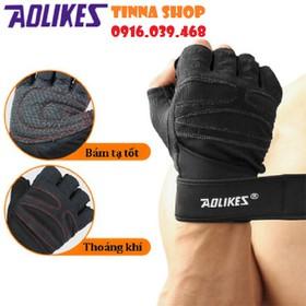 Găng tay tập gym, găng tay tập tạ AOLIKES chuyên dụng - Găng tay tập gym AOLIKES