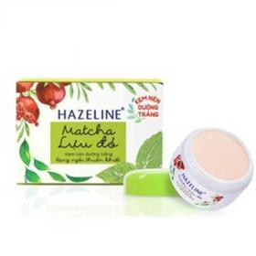 Kem nén dưỡng trắng rạng ngời Hazeline Matcha Lựu Đỏ 8g - HAZ0003-0
