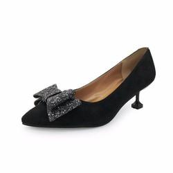 Giày cao gót , cao 3cm đế vuông