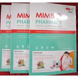 cẩm nang nhà thuốc thực hành  mims phamacy mới nhất