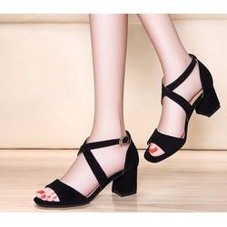 Giày sandal nữ thời trang, phong cách nữ tính kiểu dáng xinh xắn