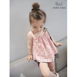 Dautay - Set áo quần bé gái mặc nhà