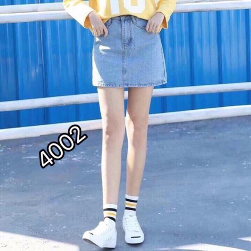 ⚡️[CỰC HOT] Chân Váy Jeans Chữ A Công Sở Thời Trang