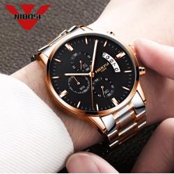 đồng hồ kim dạ quang chính hãng nibosi