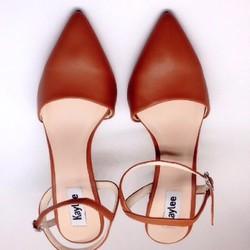 Giày cao gót nữ thời trang, kiểu dáng sang trọng, phong cách Châu Âu