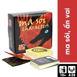 [Sale Sốc] Board Game Bài Ma Sói Characters Cơ Bản Việt Hoá