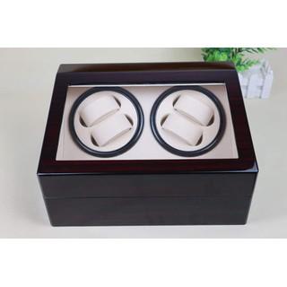 Hộp đựng đồng hồ cơ gỗ 4 xoay 6 trưng bày - 4 xoay 6 trưng bày gỗ thumbnail