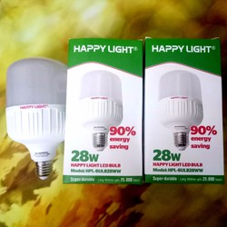 Combo 2 bóng led 28W siêu sáng sunhouse happy light